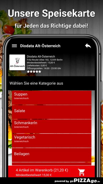Diodata Alt-Österreich Berlin screenshot 4