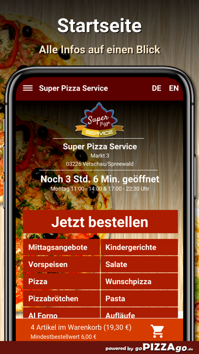 Super Pizza Vetschau/Spreewald screenshot 2