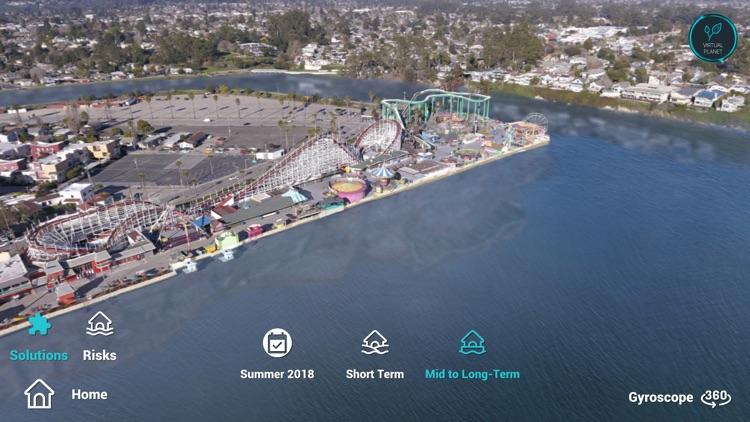 Sea Level Rise: Santa Cruz screenshot-3