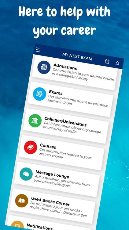 MyNextExam: The Admission App