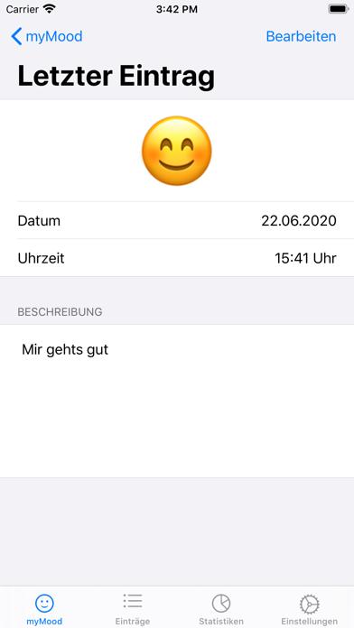 myMood: StimmungstagebuchScreenshot von 2