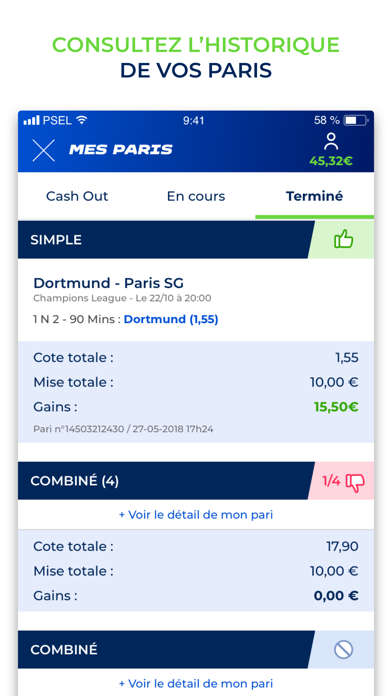 messages.download ParionsSport En Ligne software