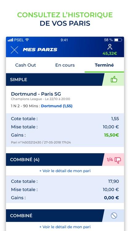 Parions Sport En Ligne screenshot-3