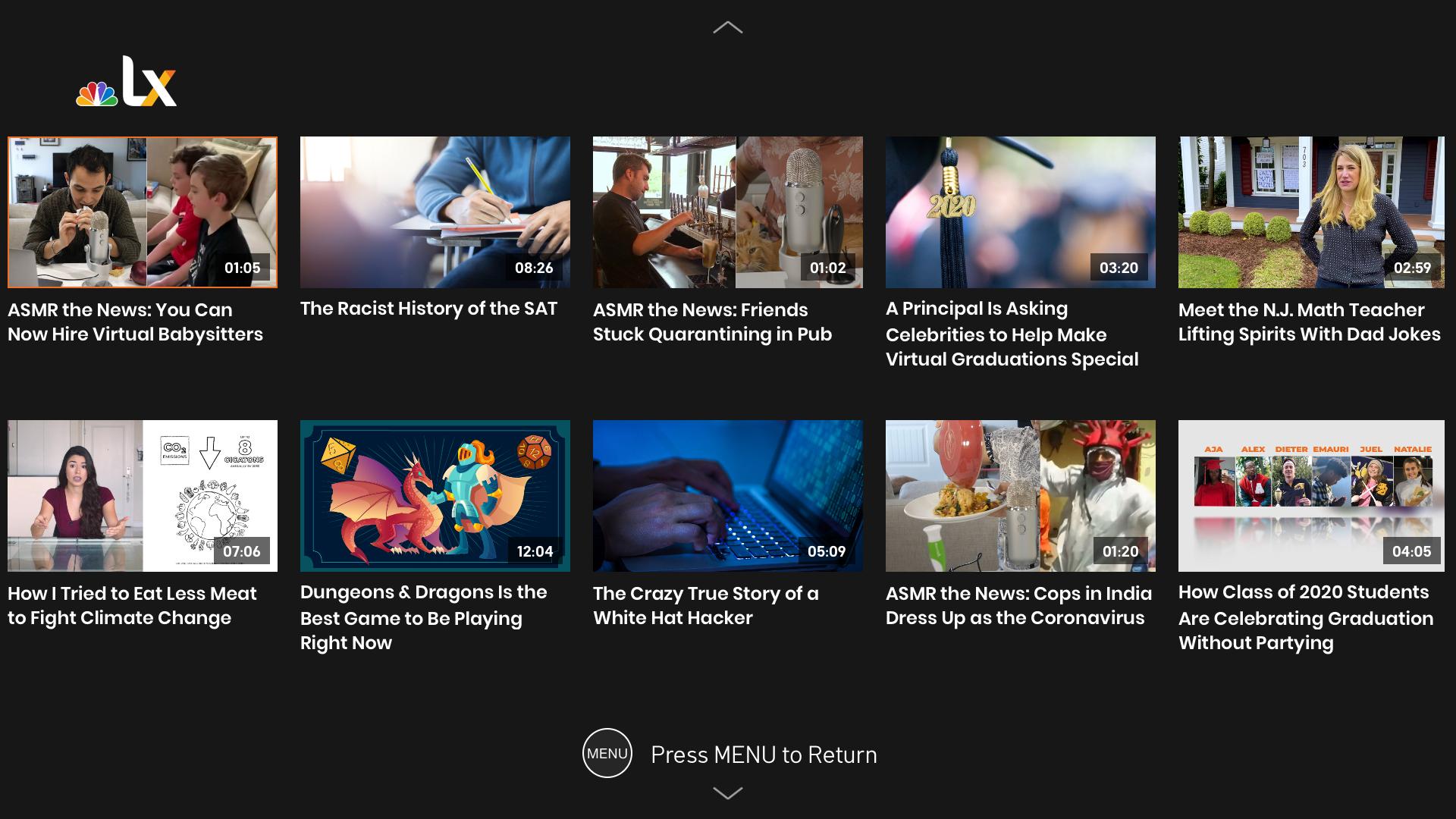 NBCLX screenshot 3