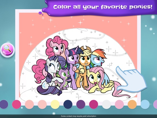 My Little Pony Color By Magic screenshot 14