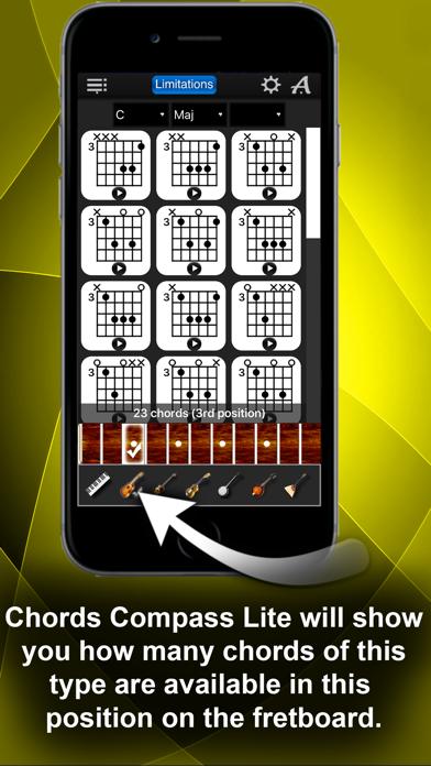Компас Аккордов Лайт скриншот программы 3