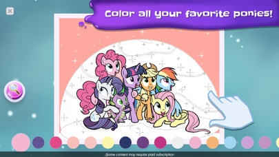 My Little Pony Color By Magic screenshot 4