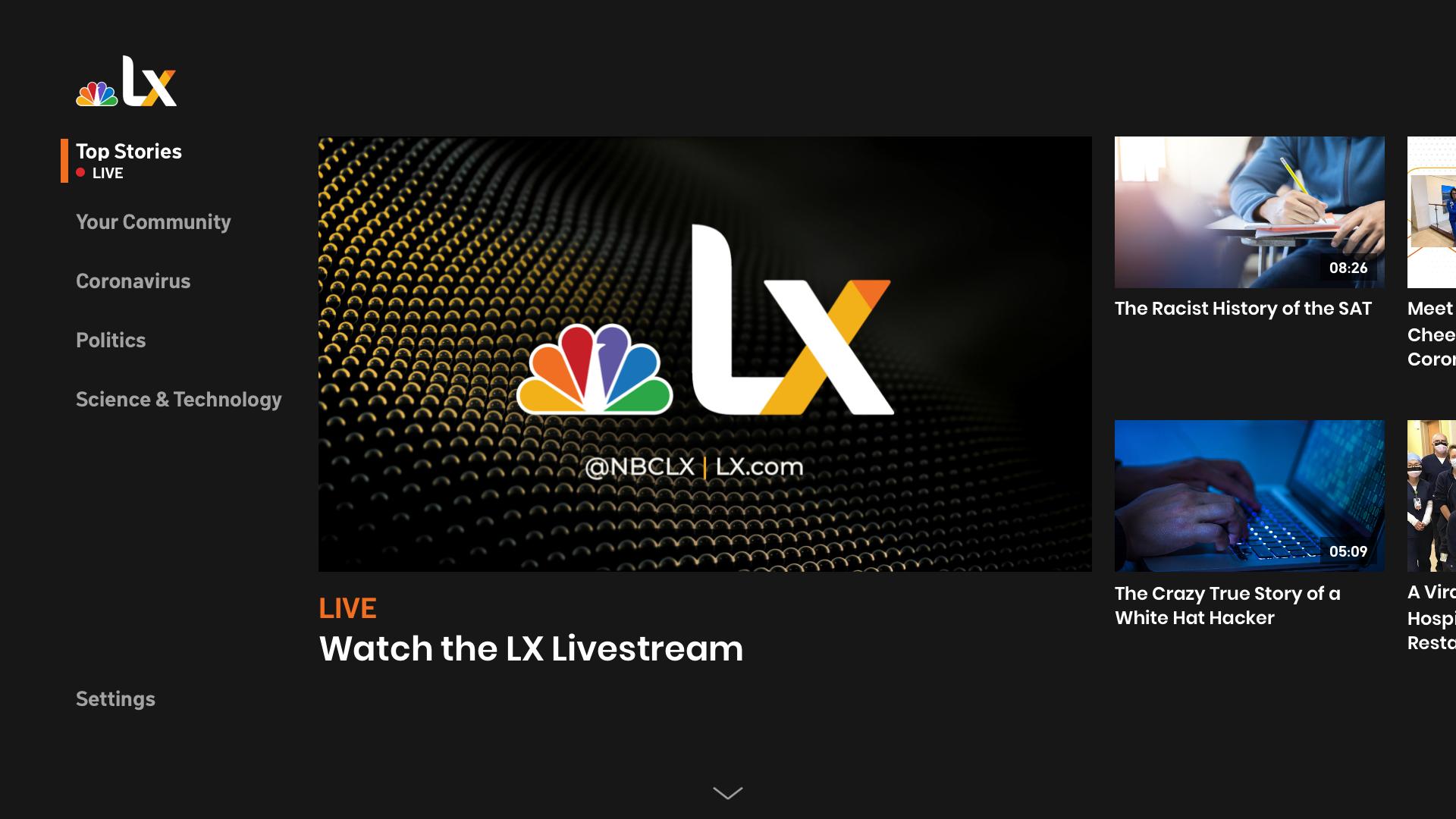 NBCLX screenshot 1