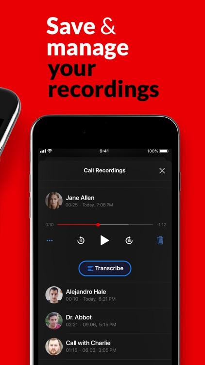 Call Recorder App.