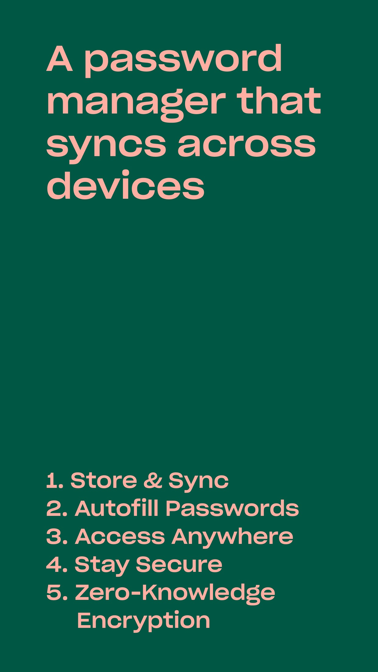 Screenshot do app Dropbox Passwords - By Invite