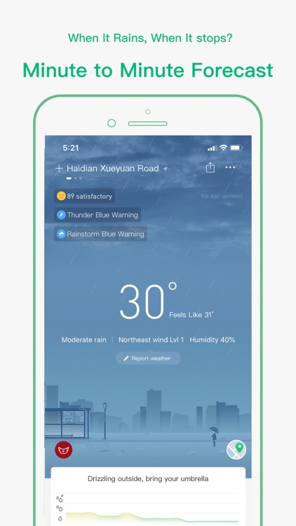 ColorfulClouds Weather Pro screenshot-0
