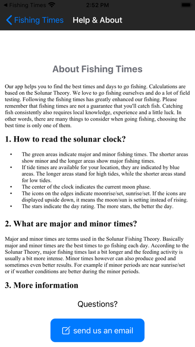 Fishing Times Calendarのおすすめ画像6