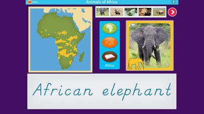 Montessori Animals of Africa screenshot 2