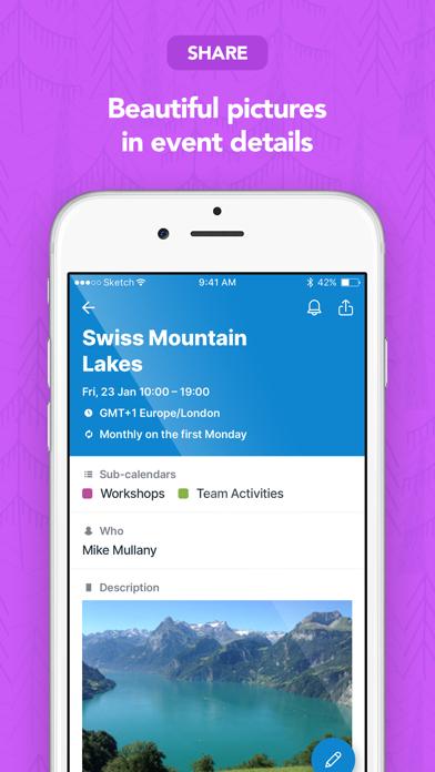 Teamup Calendar screenshot two
