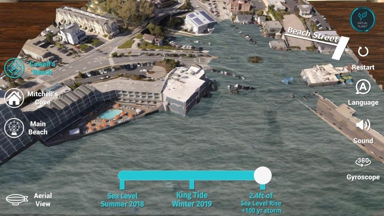 Sea Level Rise: Santa Cruz screenshot-5