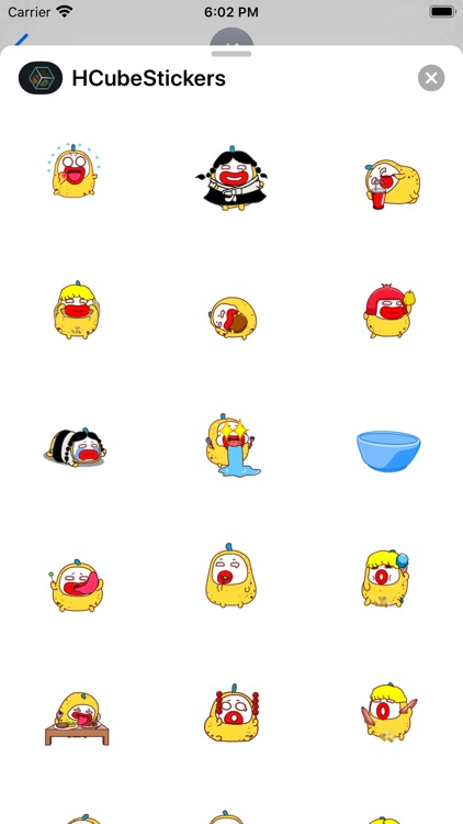 Happy Cube - Emoji screenshot-3