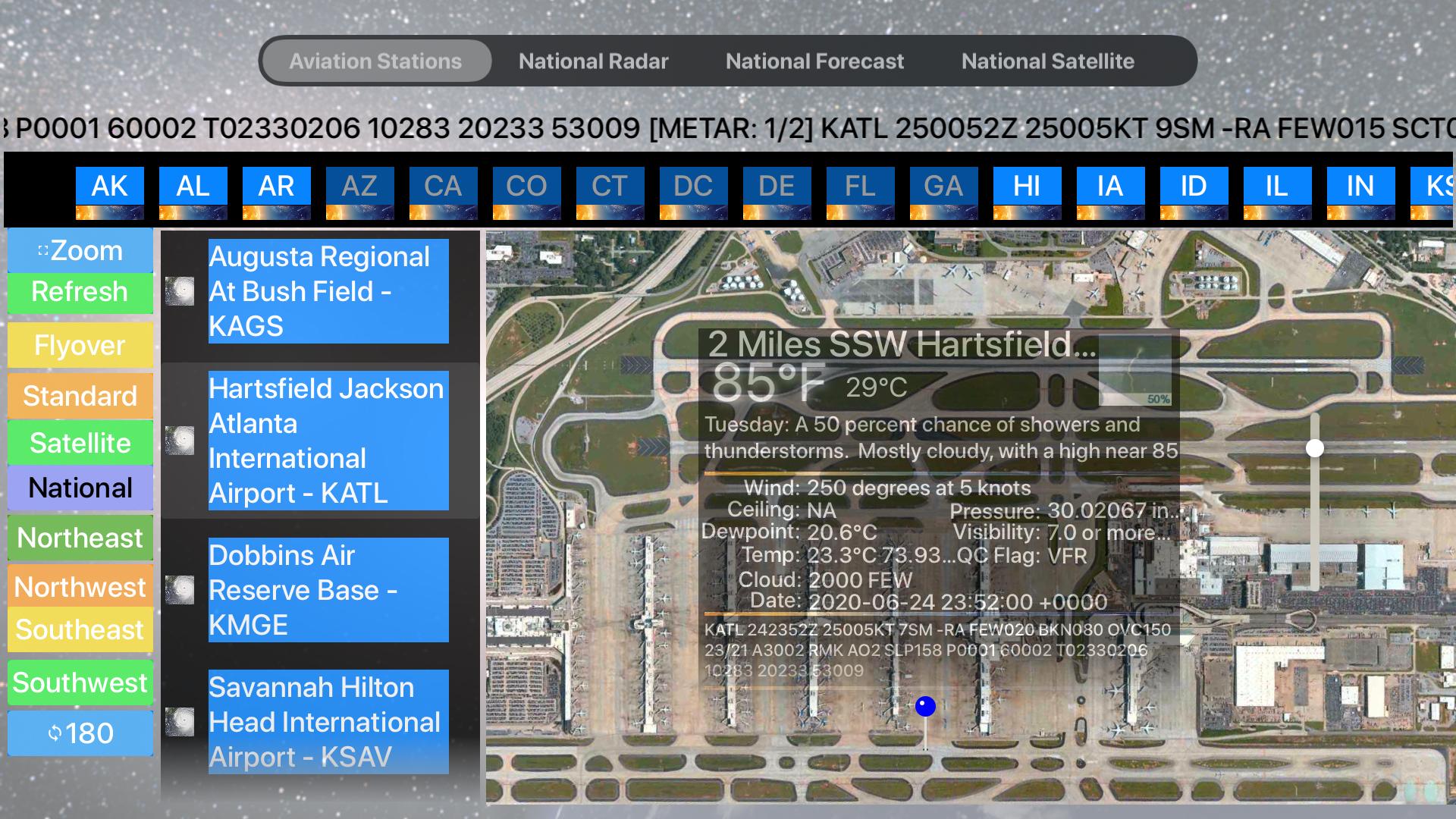 Instant Aviation Weather Lite screenshot 1