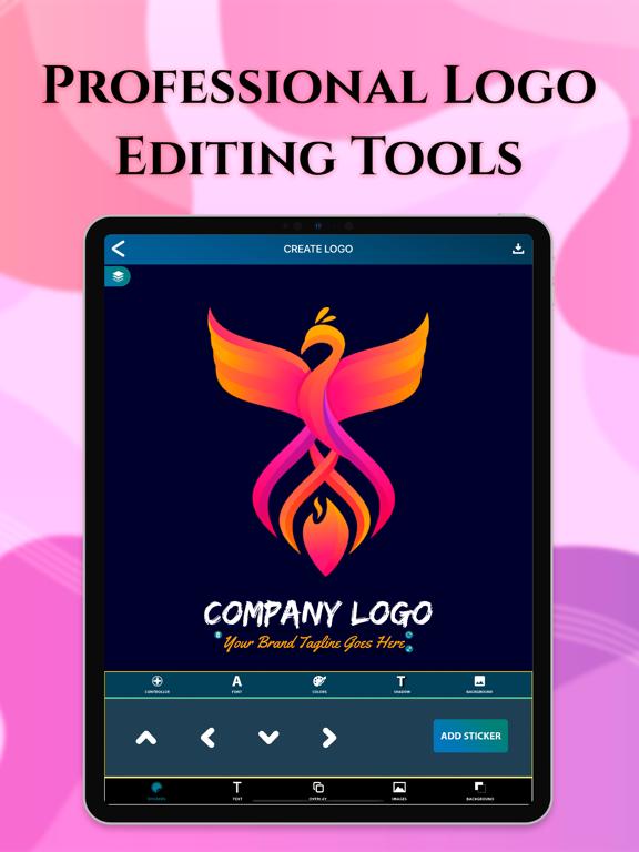 Ipad Screen Shot Logo Maker: Logo Creator 4