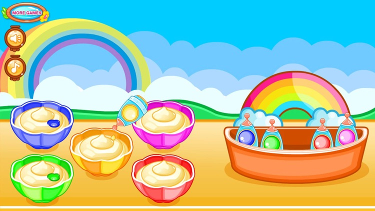 Cooking colorful cupcakes game screenshot-5