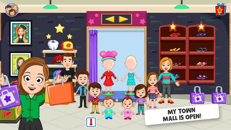 My Town : Shopping Mall screenshot-4