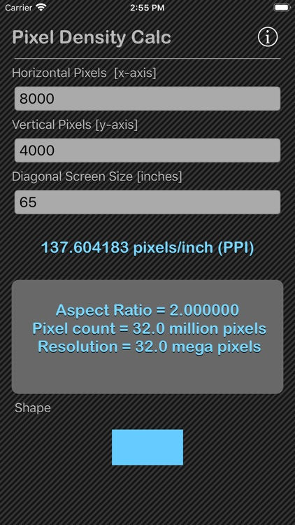 Pixel Density Calc screenshot-4