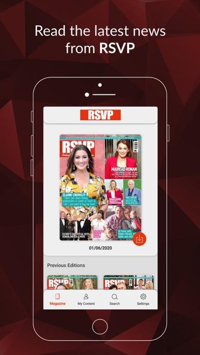 RSVP MagazineScreenshot of 1