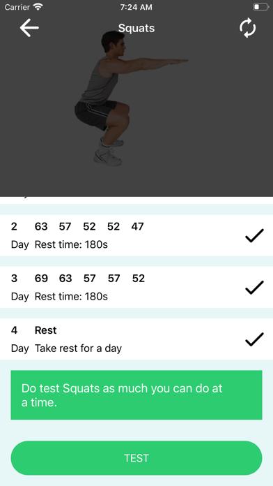 200 Squats Challenge screenshot 9