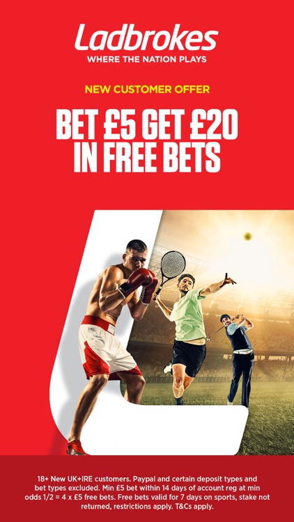 Ladbrokes Sports Betting screenshot-0