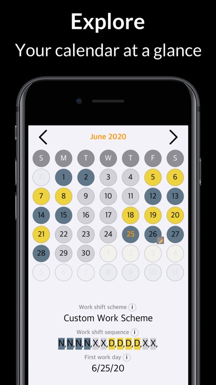 Rosta – Duty Calendar screenshot-5