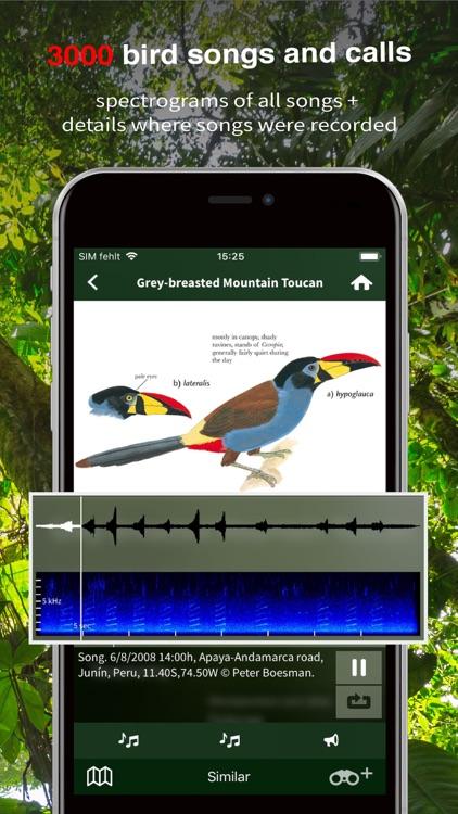 All Birds Ecuador field guide screenshot-3