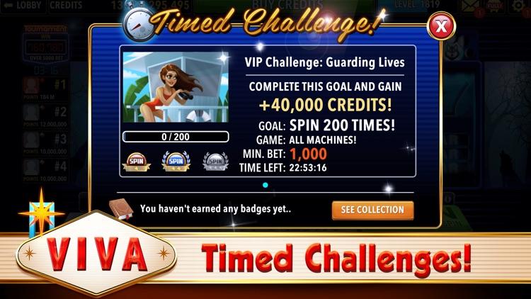 Viva Slots Vegas Slot Machines screenshot-5