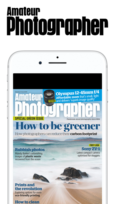 Amateur Photographer Magazine screenshot one