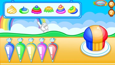 Цветные кексы & игра в торт для ПК 1