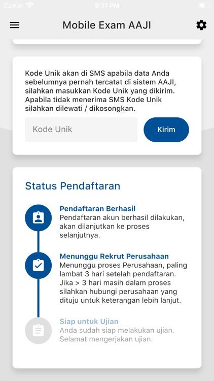 AAJI Mobile-Exam screenshot-3