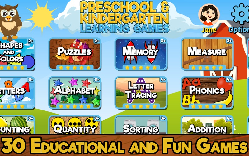 Preschool & Kindergarten Games screenshot 1