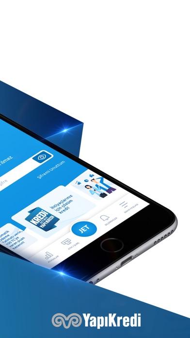 Yapı Kredi Mobil iphone ekran görüntüleri