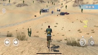 Bicycle travelling screenshot 1