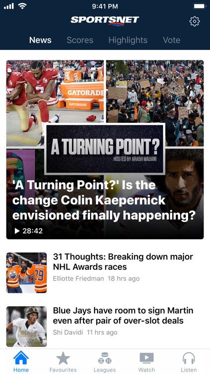 Sportsnet screenshot-0