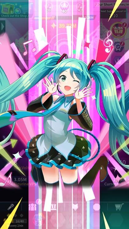 Hatsune Miku - Tap Wonder screenshot-4