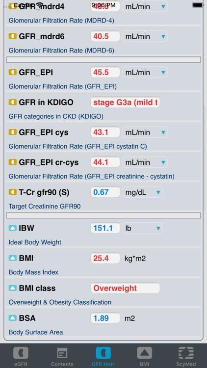 eGFR™ screenshot-3