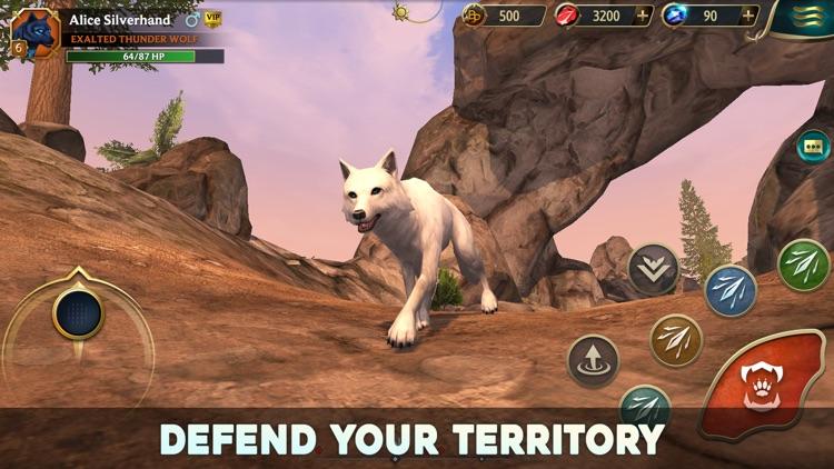 Wolf Tales - Online RPG Sim screenshot-3