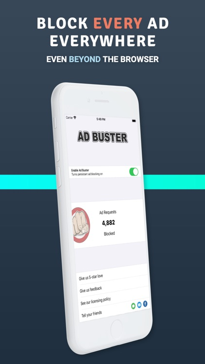Ad Buster - The Ad Blocker