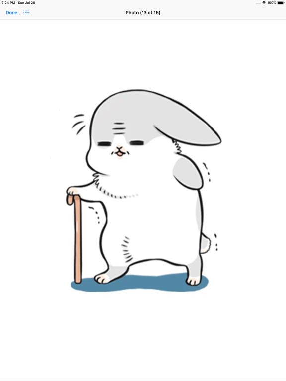 Ipad Screen Shot Machiko Rabbit Pack# 3 7