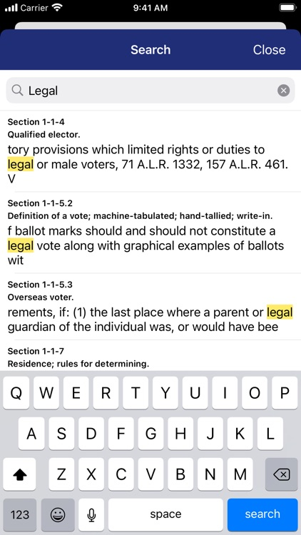 New Mexico Statutes Pocket Law screenshot-3