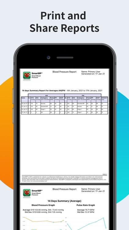 SmartBP - Smart Blood Pressure screenshot-8