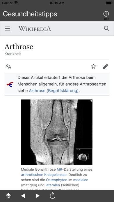 Gesundheitstipps screenshot 3