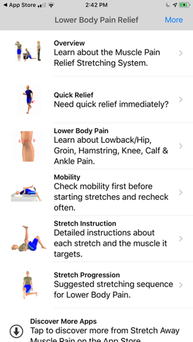 Stretch For Pain Relief Lowerのおすすめ画像1