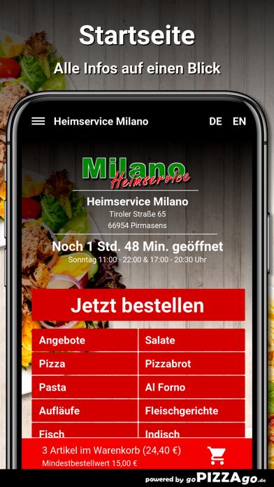 Heimservice Milano Pirmasens screenshot 2