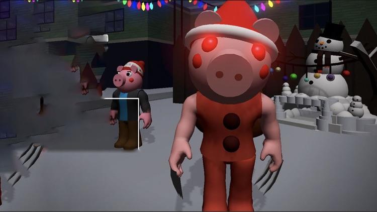 Piggy Santa Claus
