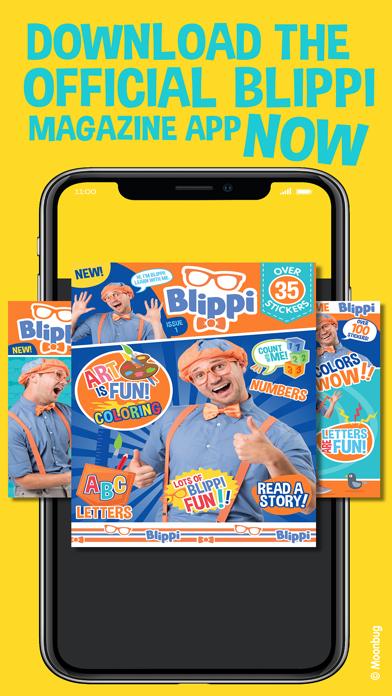 Screen Shot Blippi Official Magazine 5